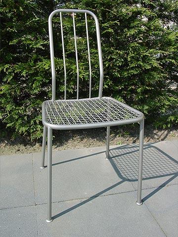 roestvrijstalen stoel