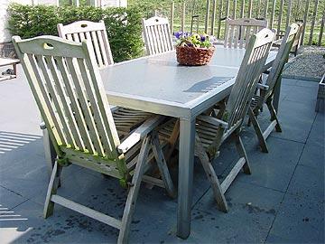 roestvrijstalen tafel